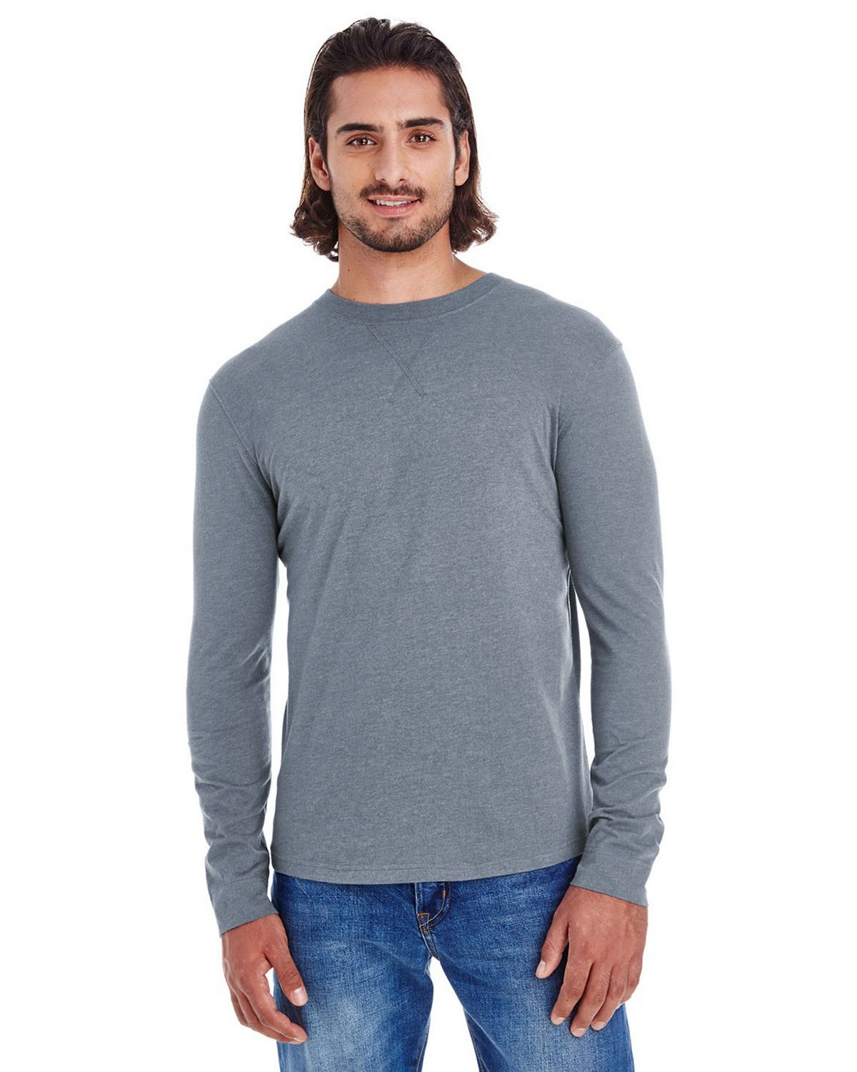 Econscious EC1588 Mens Long Sleeve Jersey - Water - M EC1588