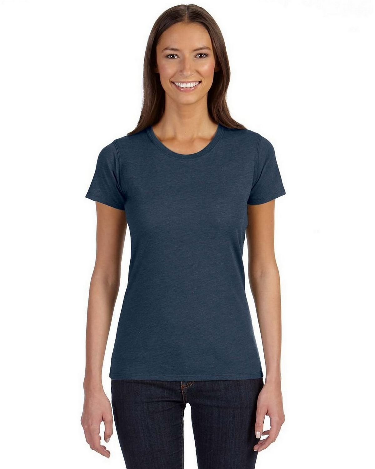 Econscious EC3800 Ladies Blended Eco T Shirt - Water - XL EC3800