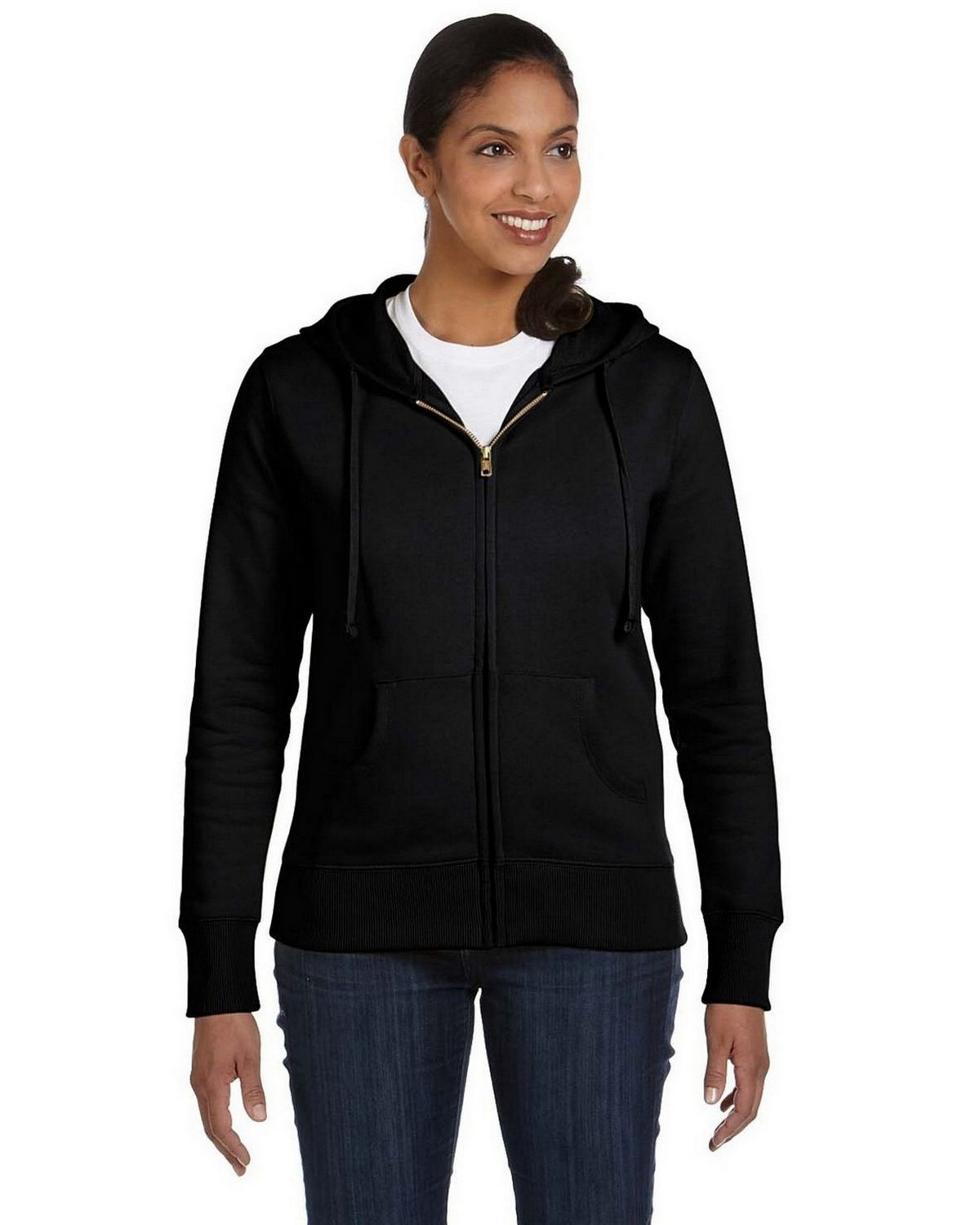 econscious EC4501 Ladies Hood Jacket - Polar Bear - M EC4501
