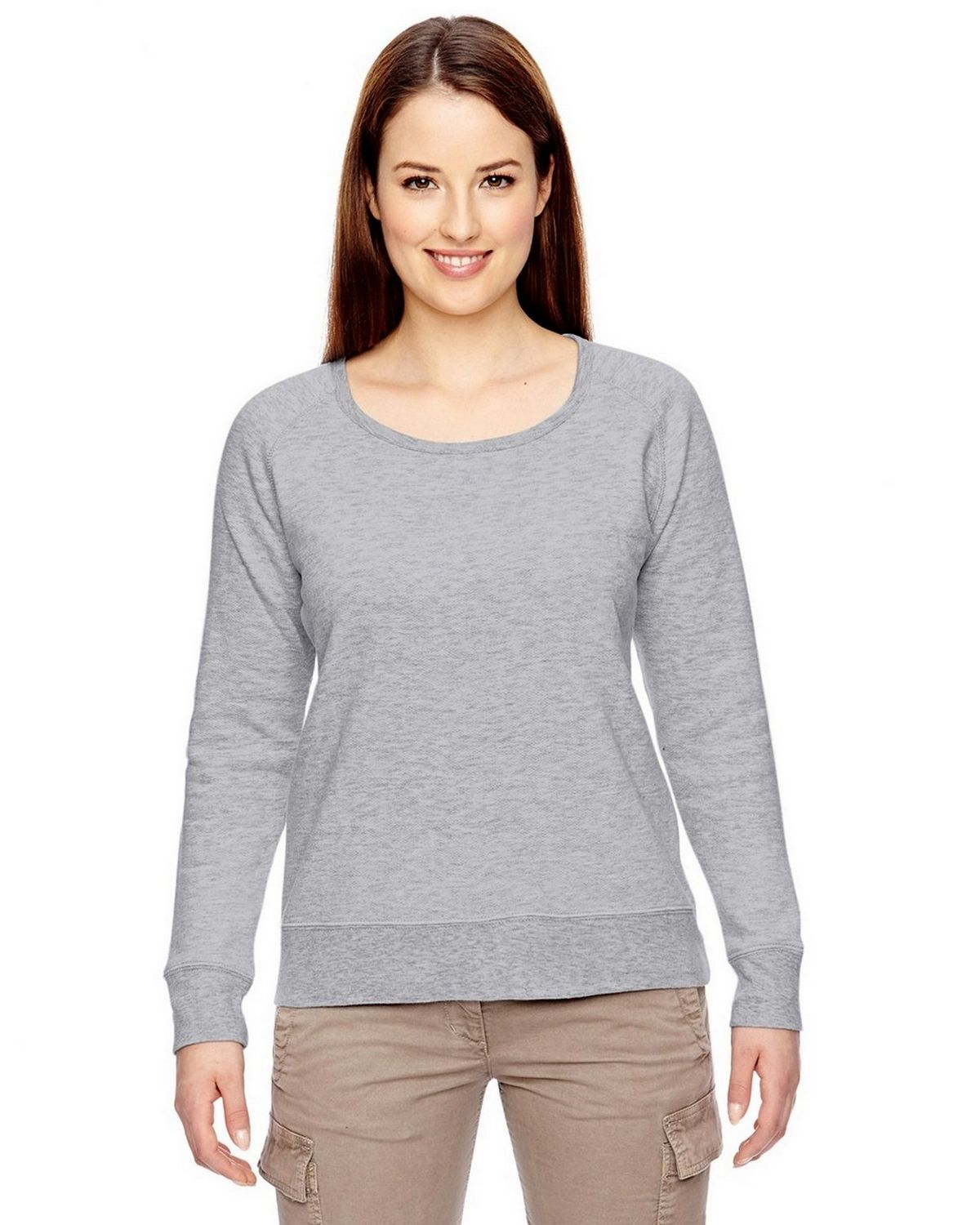 Econscious EC4505 Ladies Pullover - Athletic Gray - S EC4505