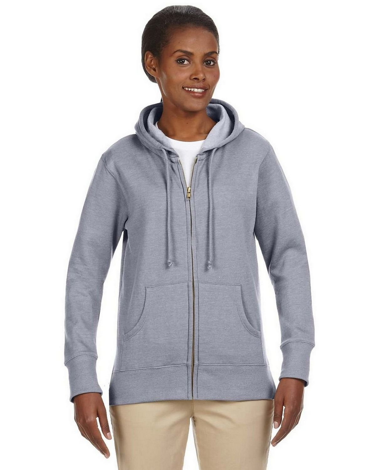 Econscious EC4580 Ladies Hood Fleece - Charcoal - XL EC4580
