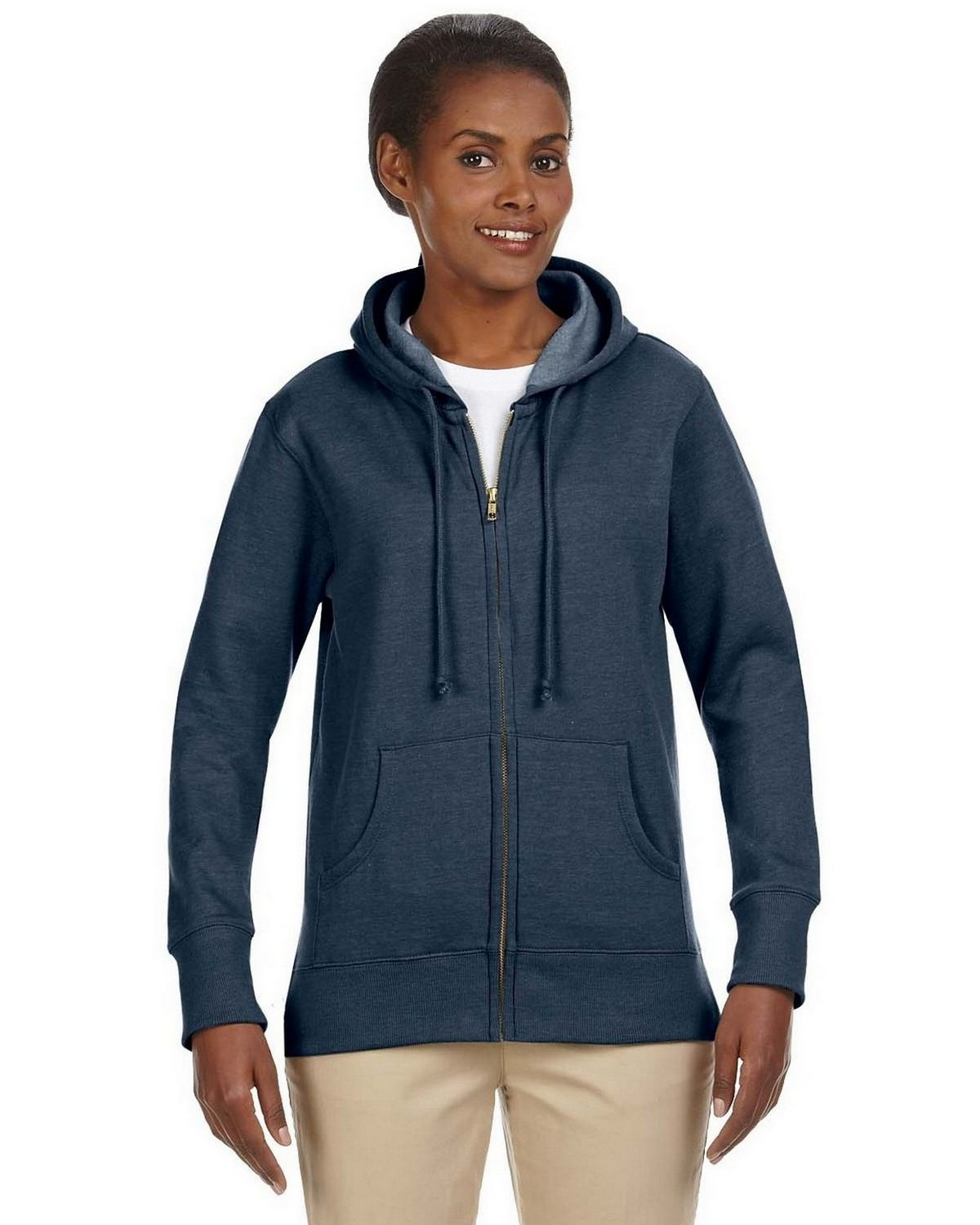 Econscious EC4580 Ladies Hood Fleece - Water - XL EC4580