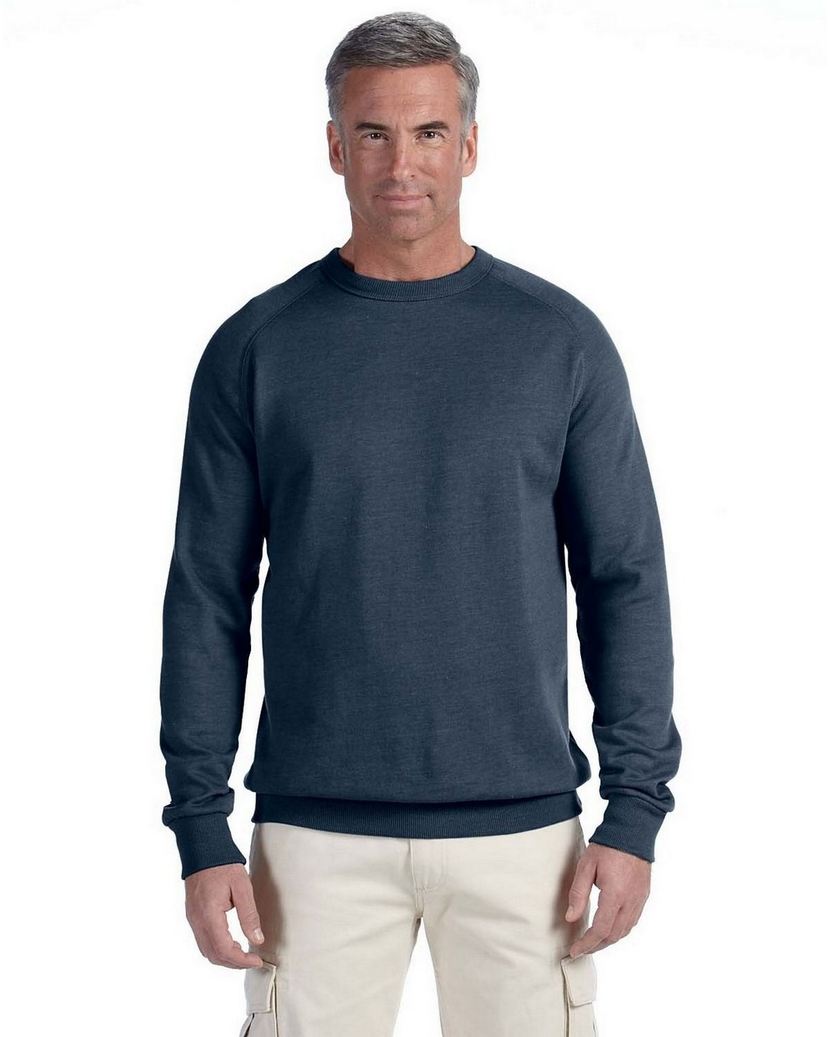 Econscious EC5050 Raglan Pullover - Athletic Grey - S EC5050