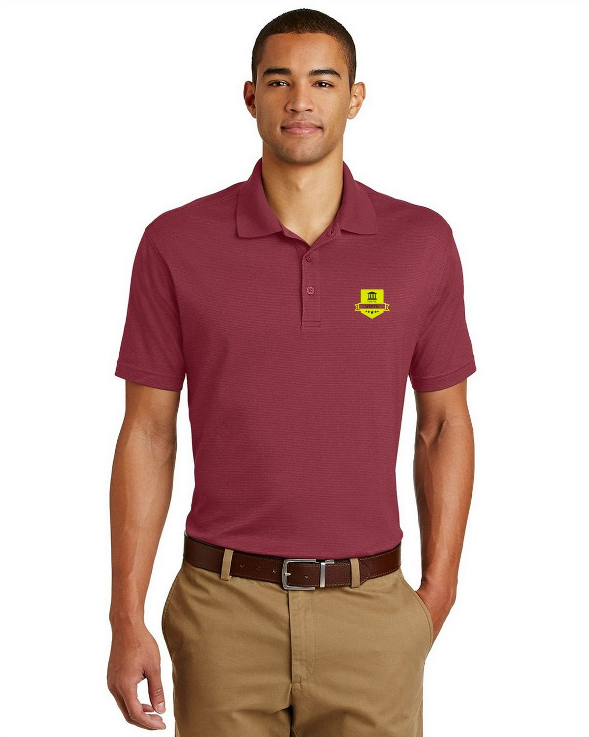 78a3635e Buy Logo Embroidered Eddie Bauer EB102 Men Performance Polo Shirt