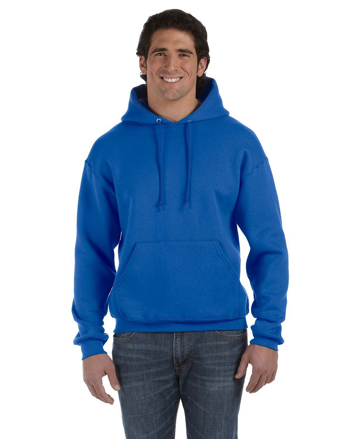 67552bf3e3 Fruit Of The Loom 82130R Mens Supercotton Hooded Pullover