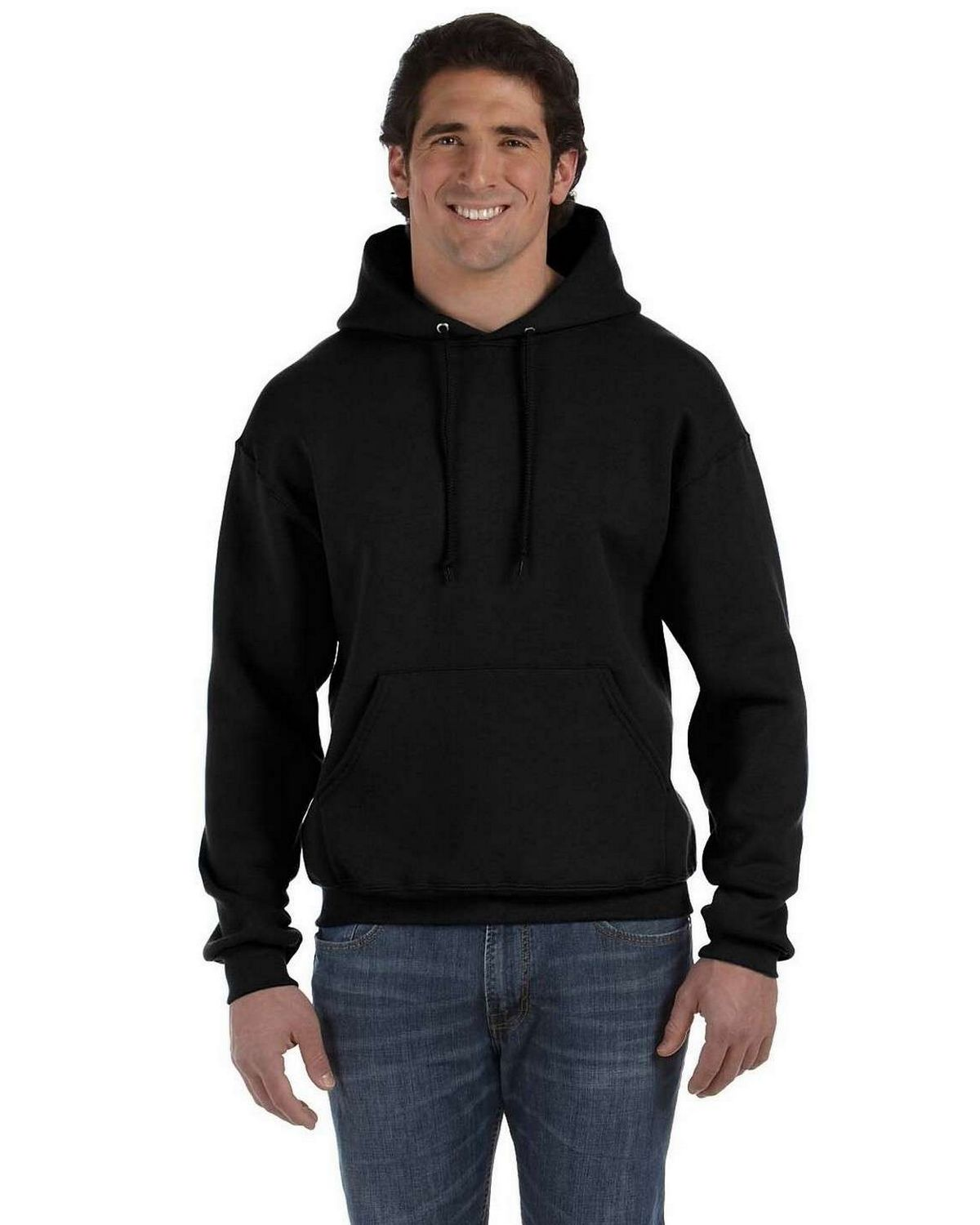 Fruit of the Loom 82130 Super Heavyweight 70/30 Hood - Black - S 82130