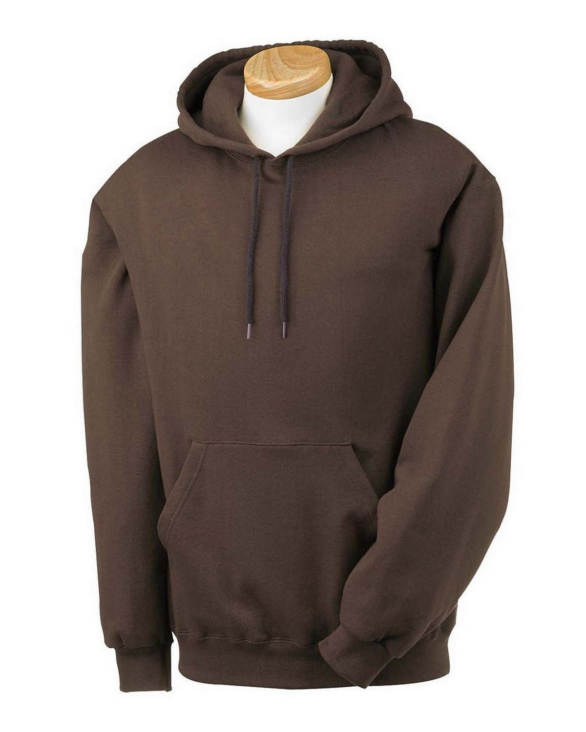 Fruit of the Loom 82130 Super Heavyweight 70/30 Hood - Chocolate - S 82130