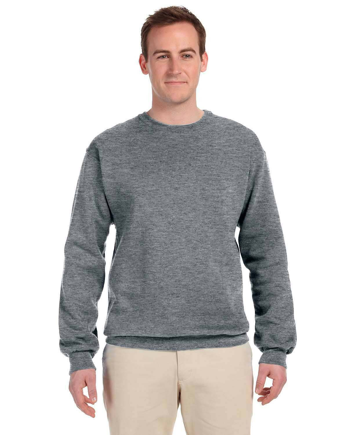 Fruit of the Loom 82300 70/30 Super Heavyweight Crew - Athletic Heather - S 82300