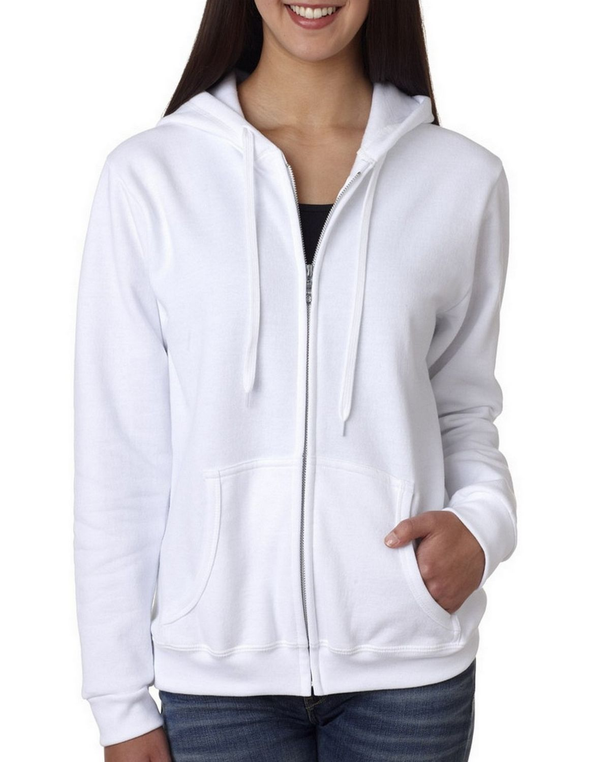 Gildan 18600FL Ladies Hooded Sweatshirt - ApparelnBags.com
