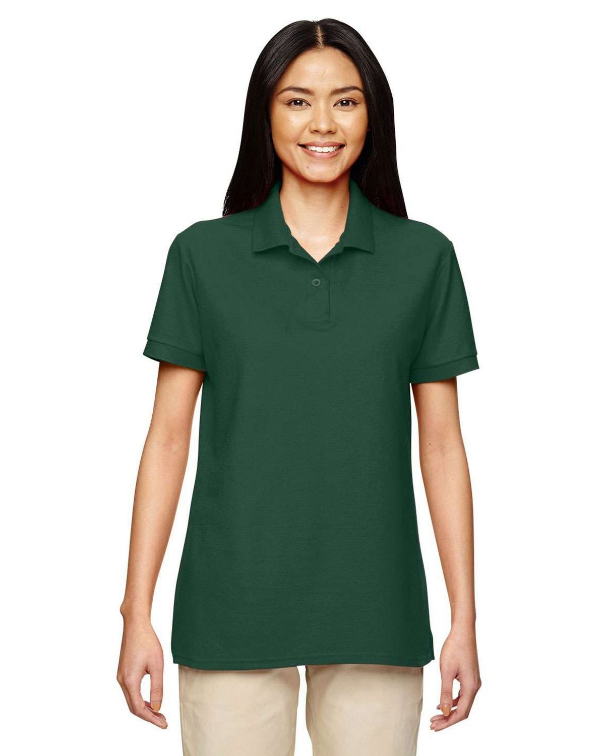 541174873 Buy Gildan 72800L DryBlend Ladies Double Pique Polo Shirt