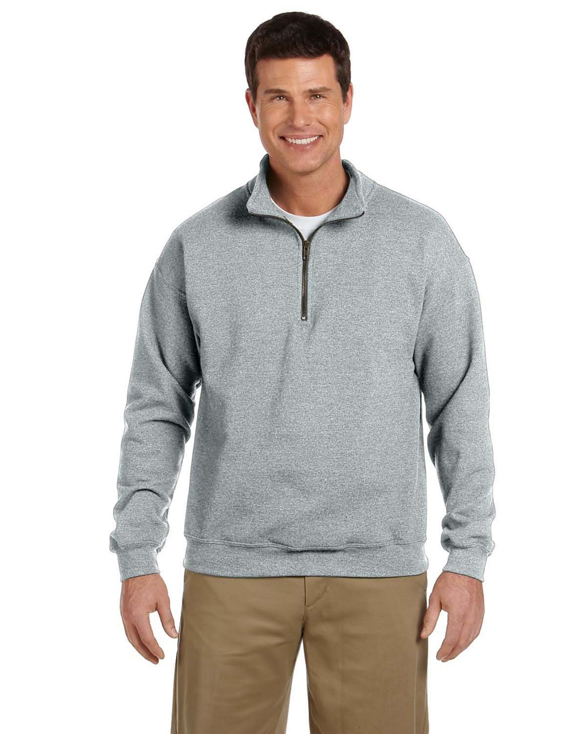 Gildan G188 Heavy Blend Vintage Cadet Collar Sweatshirt - Sport Grey - XL G188