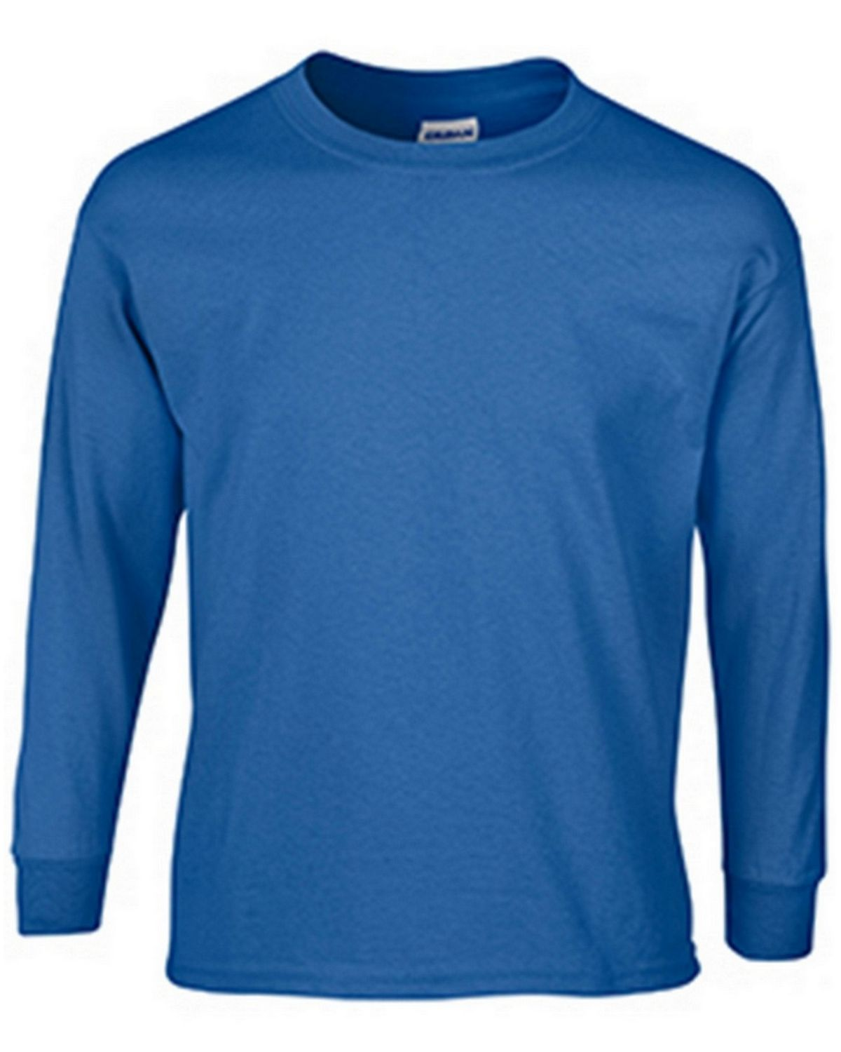 Gildan G2400B Youth Long Sleeve Tee - Royal - M G2400B
