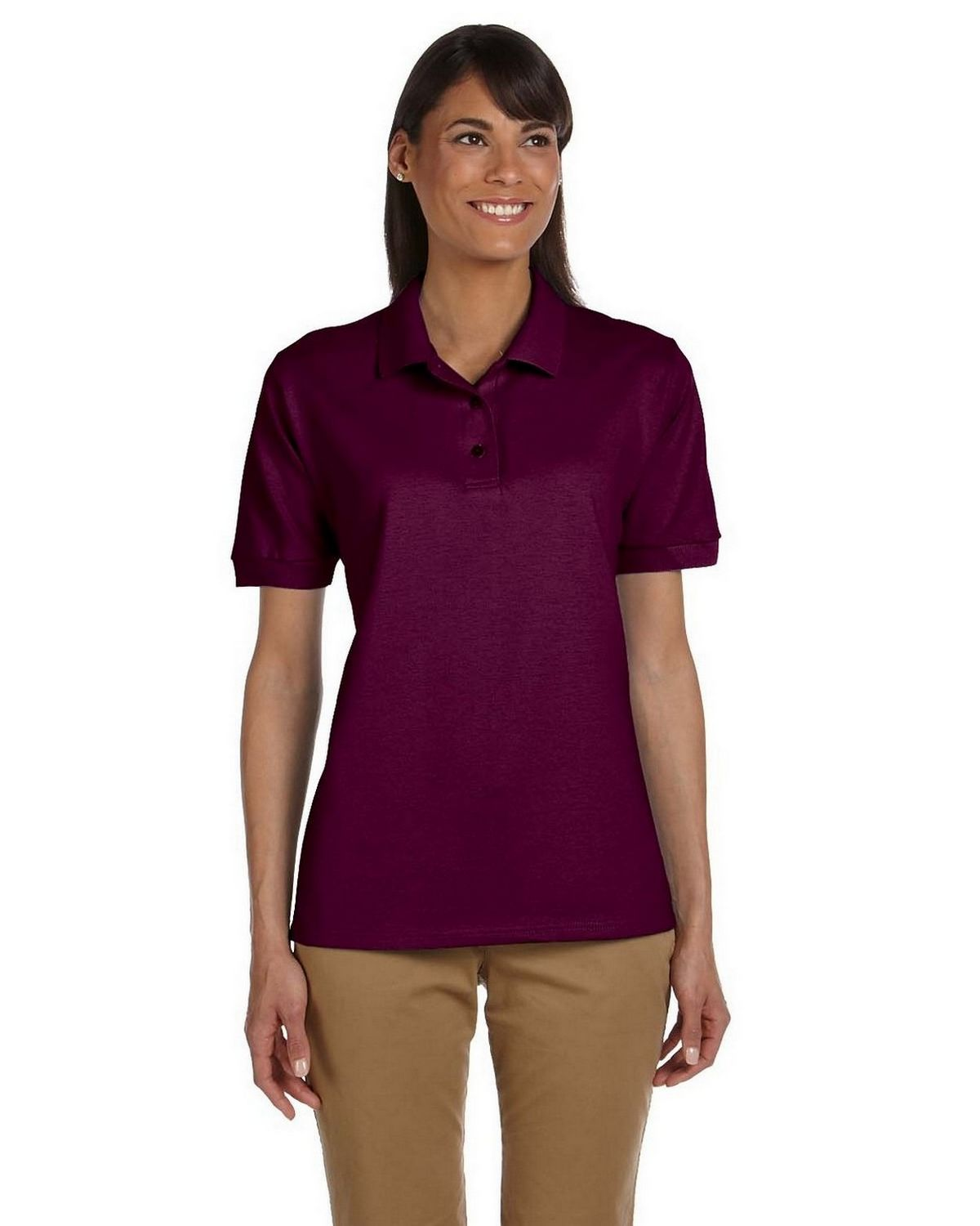 be54498c6 Buy Gildan G380L Ladies Ultra Cotton Ringspun Pique Polo