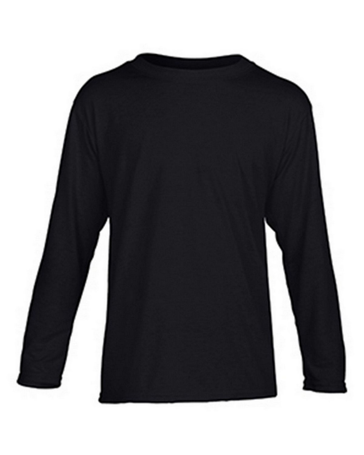 Gildan G42400B Youth Long Sleeve Tee - Black - S G42400B
