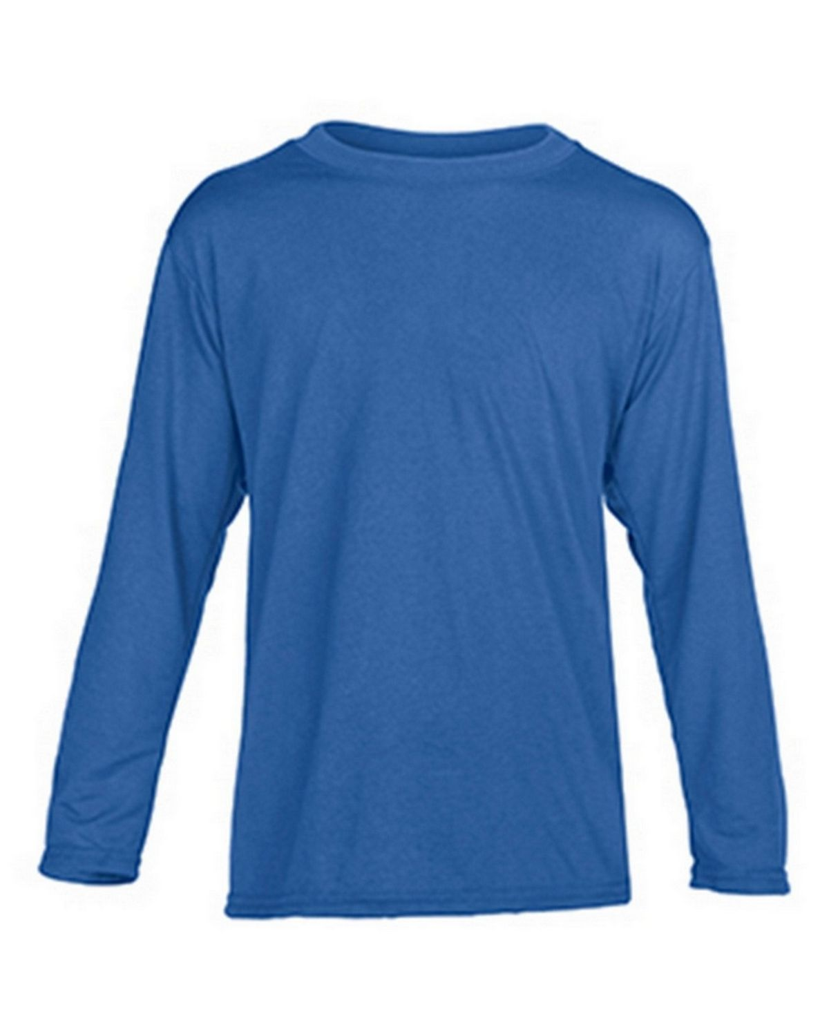 Gildan G42400B Youth Long Sleeve Tee - Royal - L G42400B
