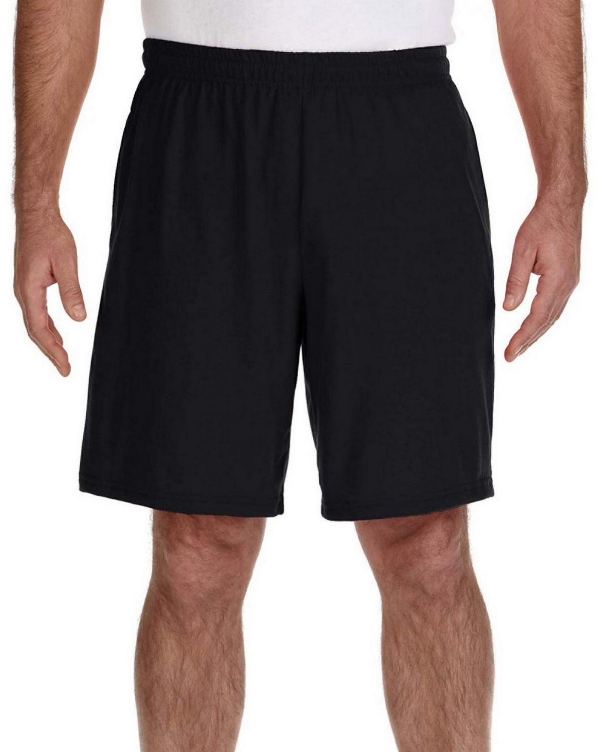 Gildan G44S30 Short with Pocket - Navy - XL G44S30