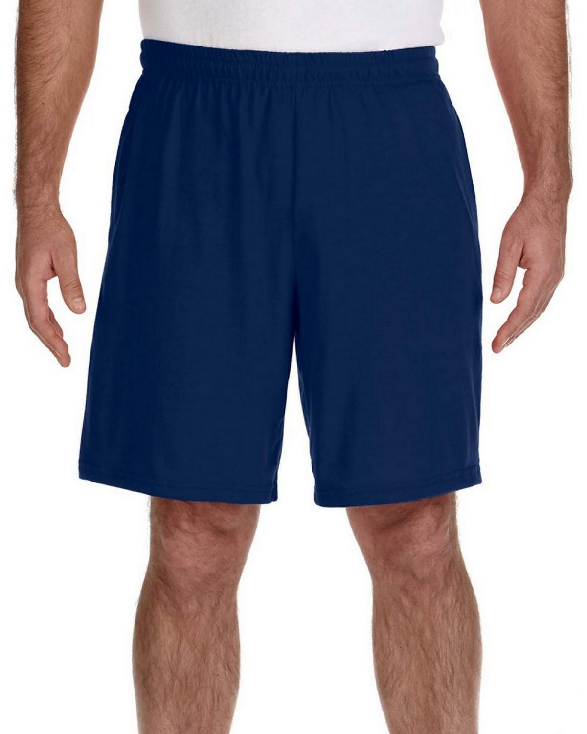 Gildan G44S30 Short with Pocket - Navy - L G44S30