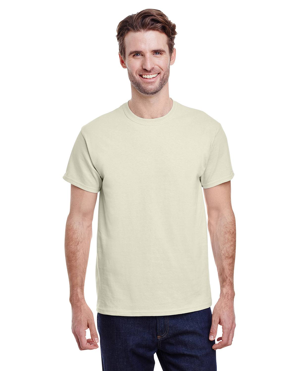 Gildan g500 heavy cotton t shirt apparelnbags natural nvjuhfo Image collections