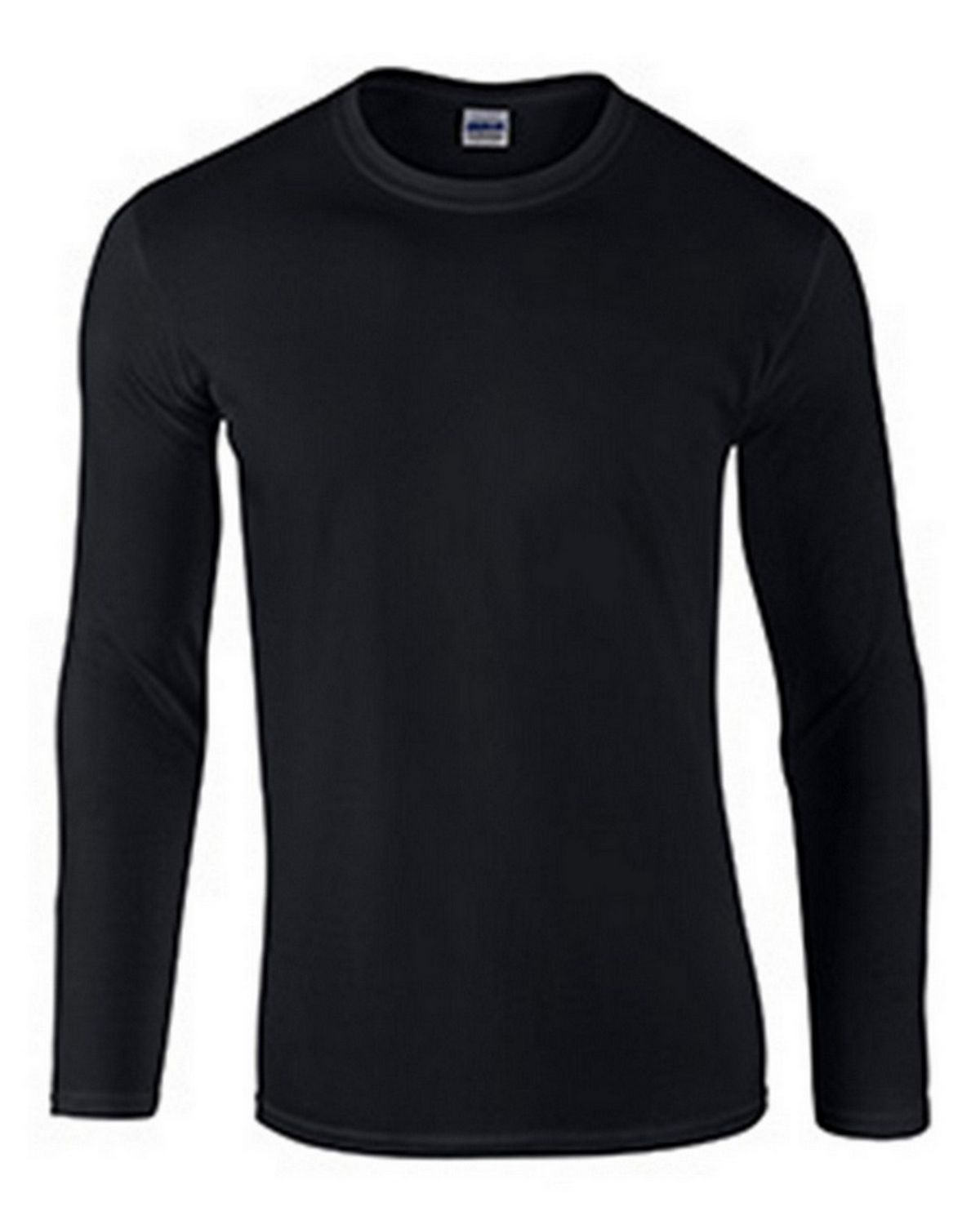 Gildan G64400 Adult Long Sleeve Tee - Black - 2X G64400