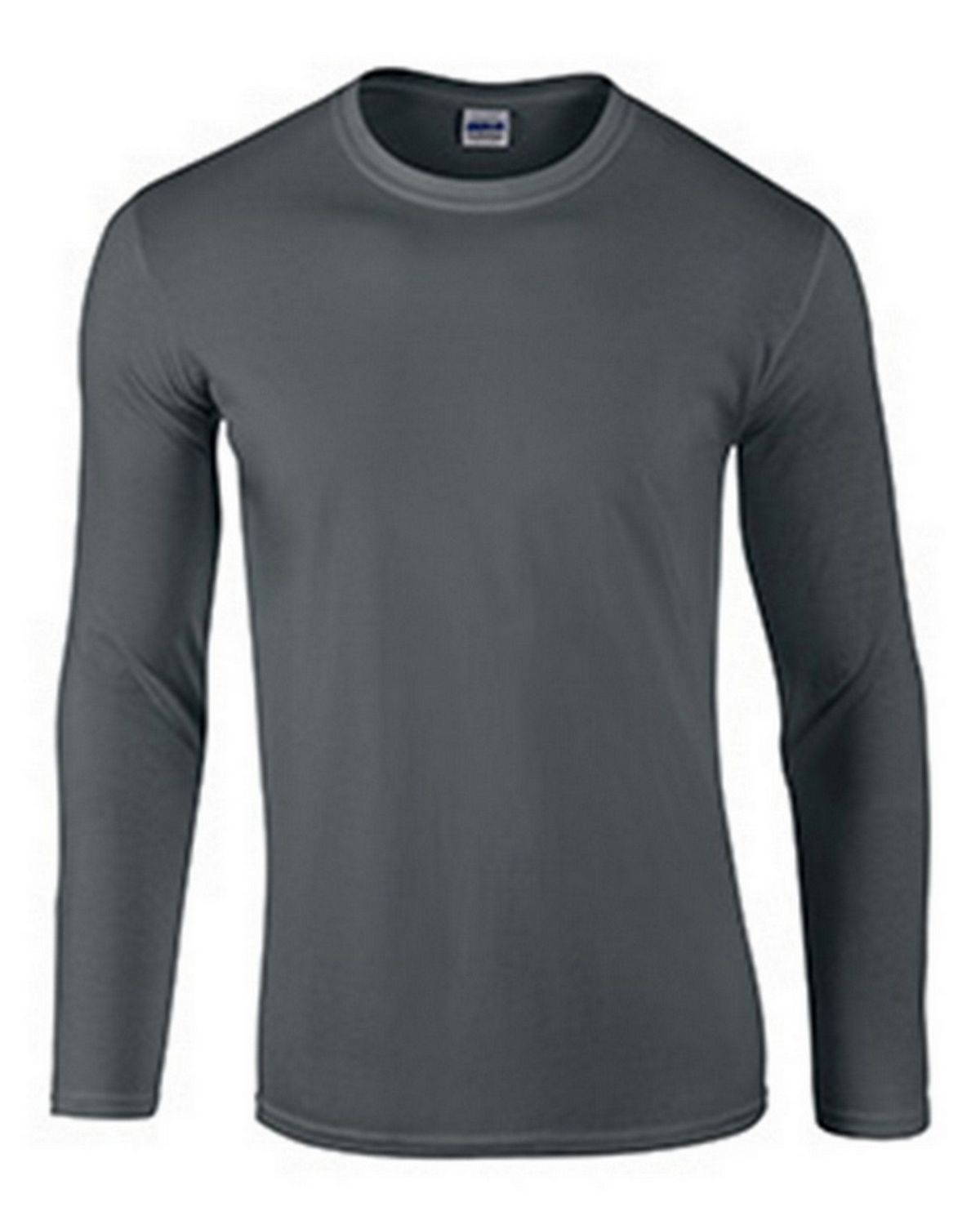 Gildan G64400 Adult Long Sleeve Tee - Charcoal - 3X G64400