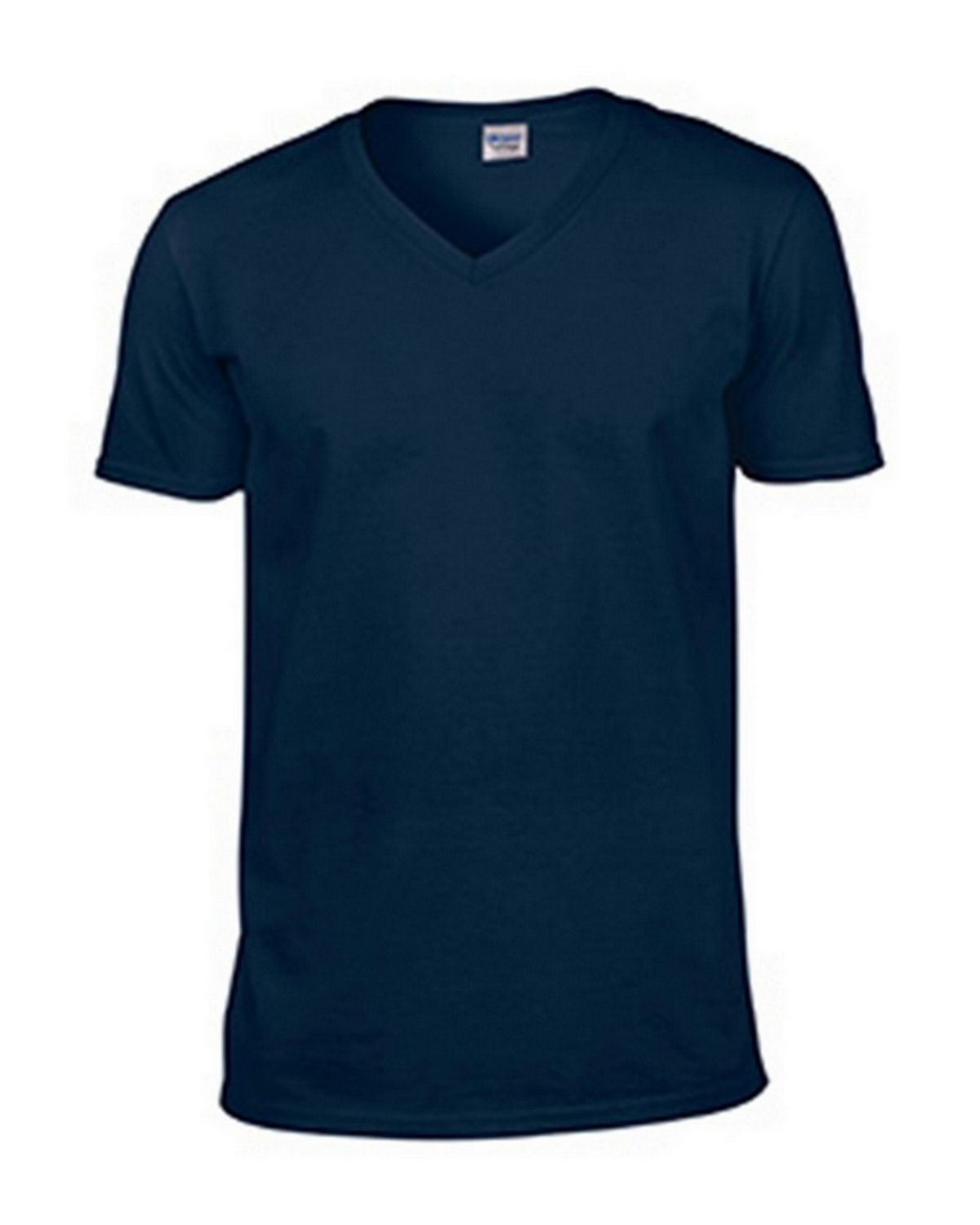 Gildan G64V00 Softstyle Adult V-Neck Tee - Heather Navy - 3X G64V00
