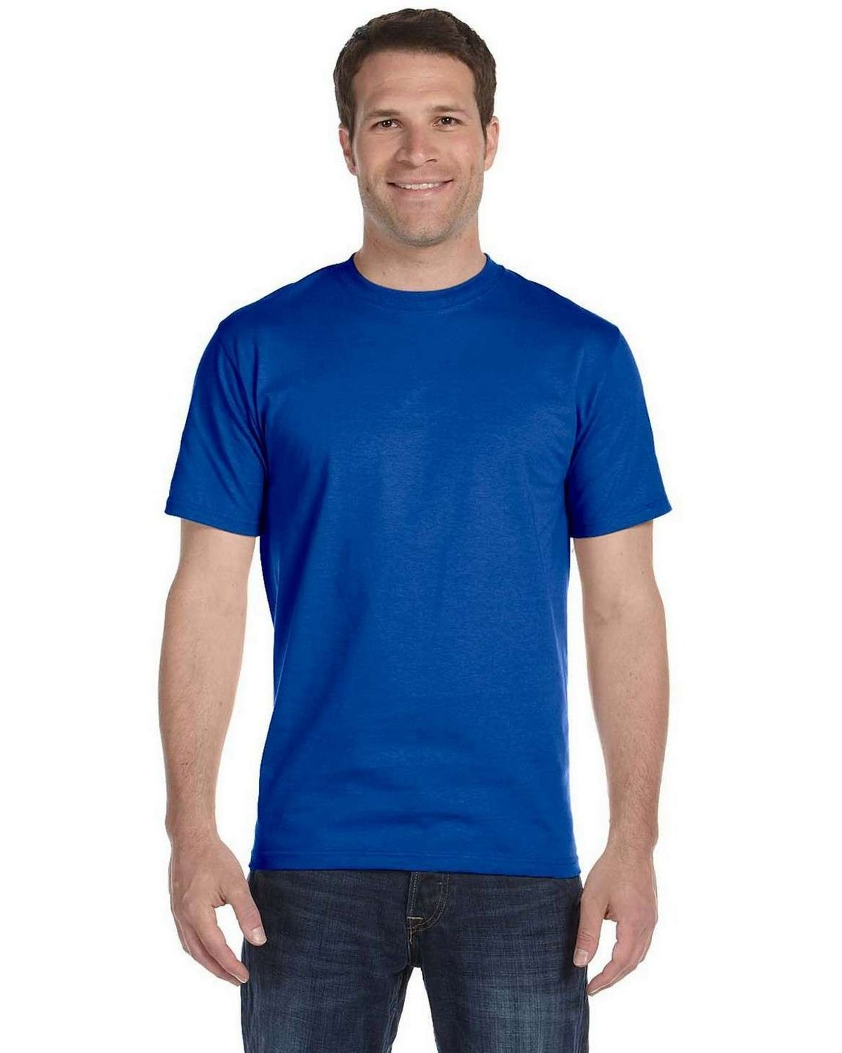 Gildan G8000 Adult Tee - Royal - XL G8000
