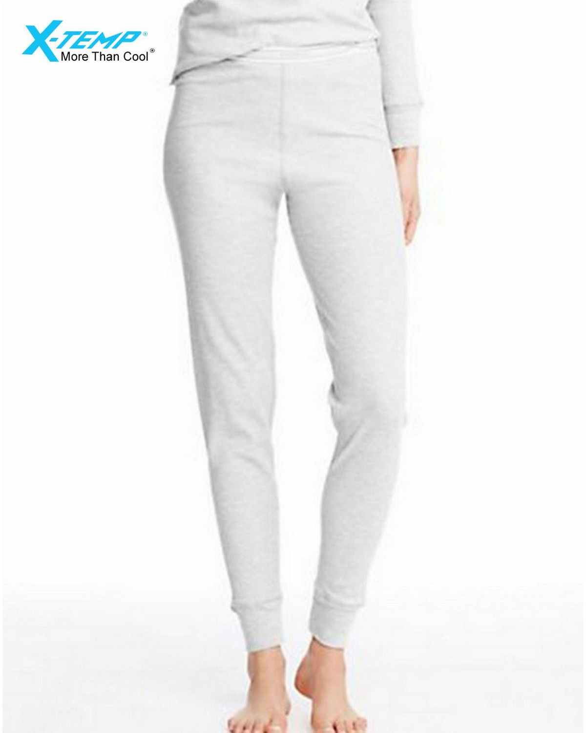 Hanes 25483 Womens X-Temp Thermal Pant - Snow White - XL 25483
