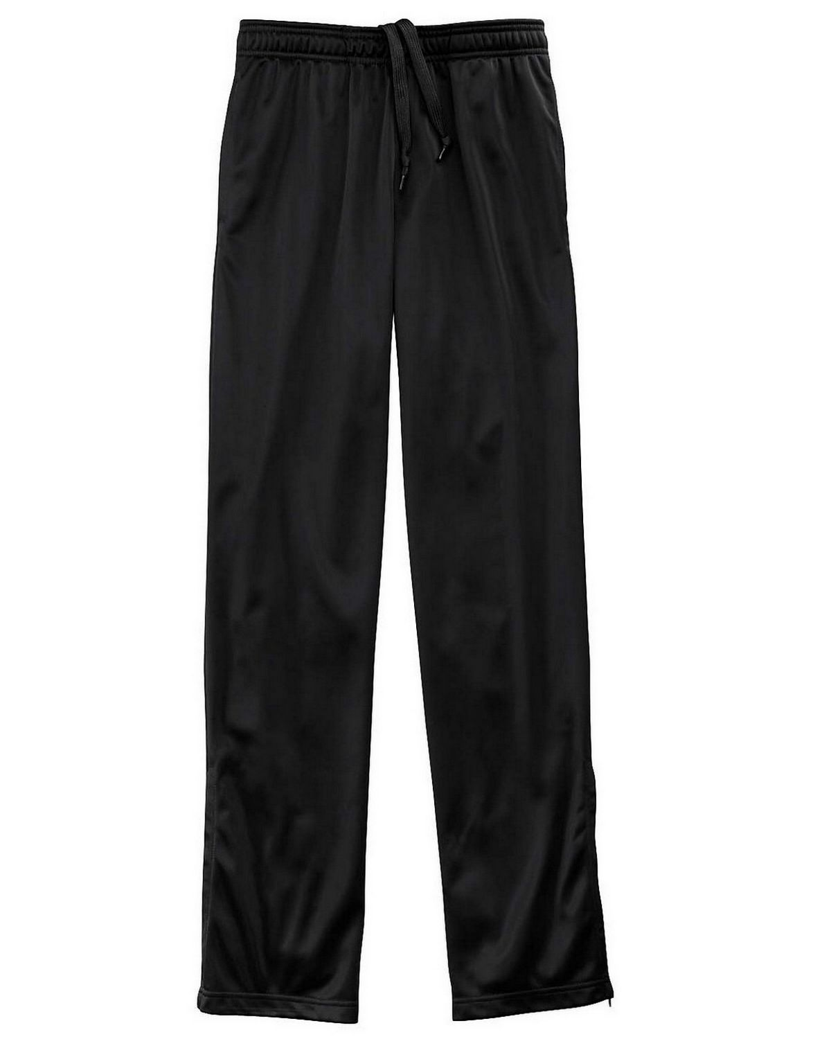 Harriton M391W Ladies Tricot Track Pants - Black - M M391W