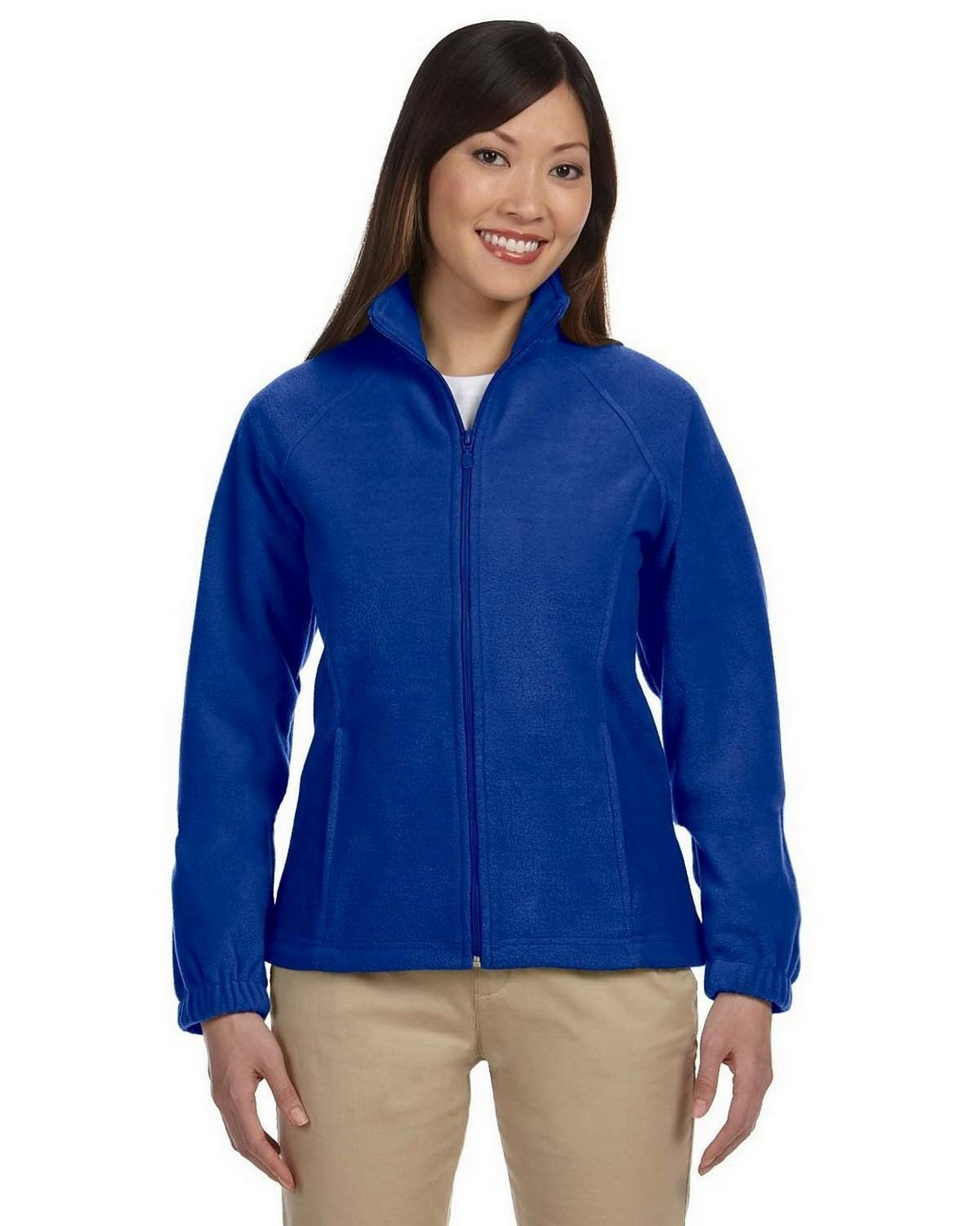 Harriton M990W Ladies Fleece - True Royal - XL M990W