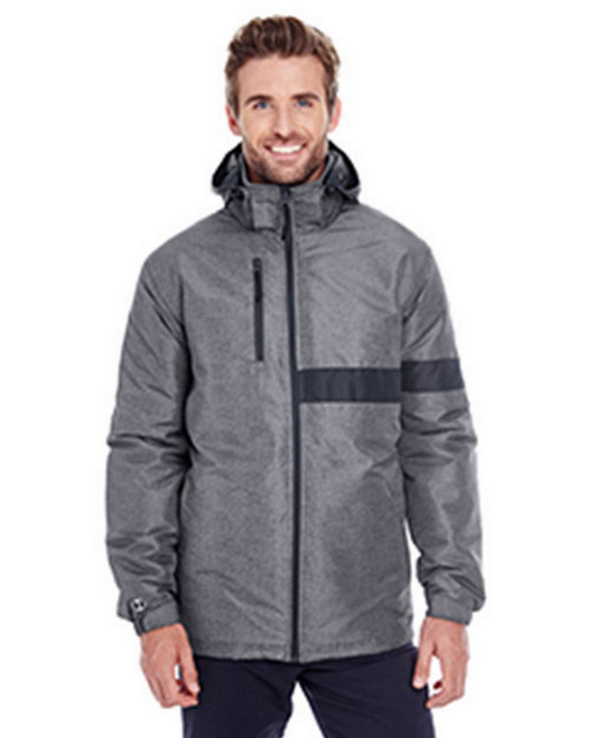 Holloway 229189 Raider Jacket - Carbon Print/Black - S 229189
