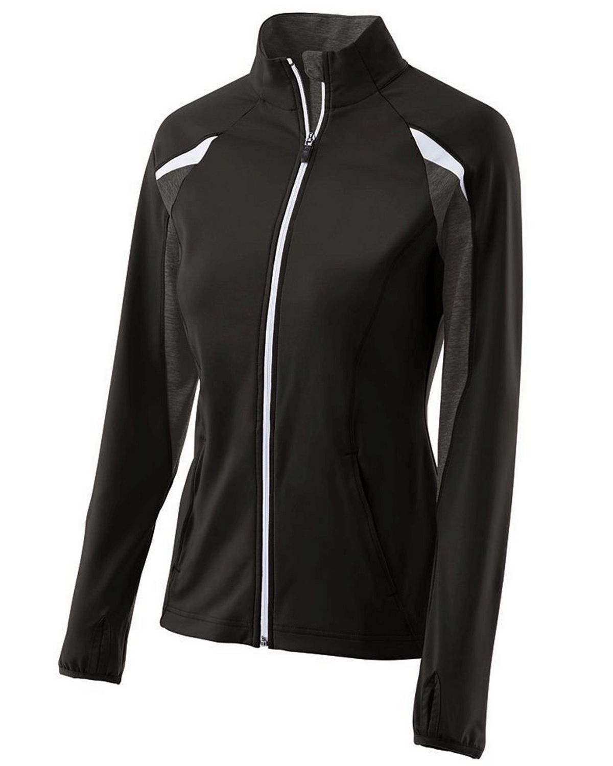 Holloway 229363 Women's Polyester Full Zip Tumble Jacket