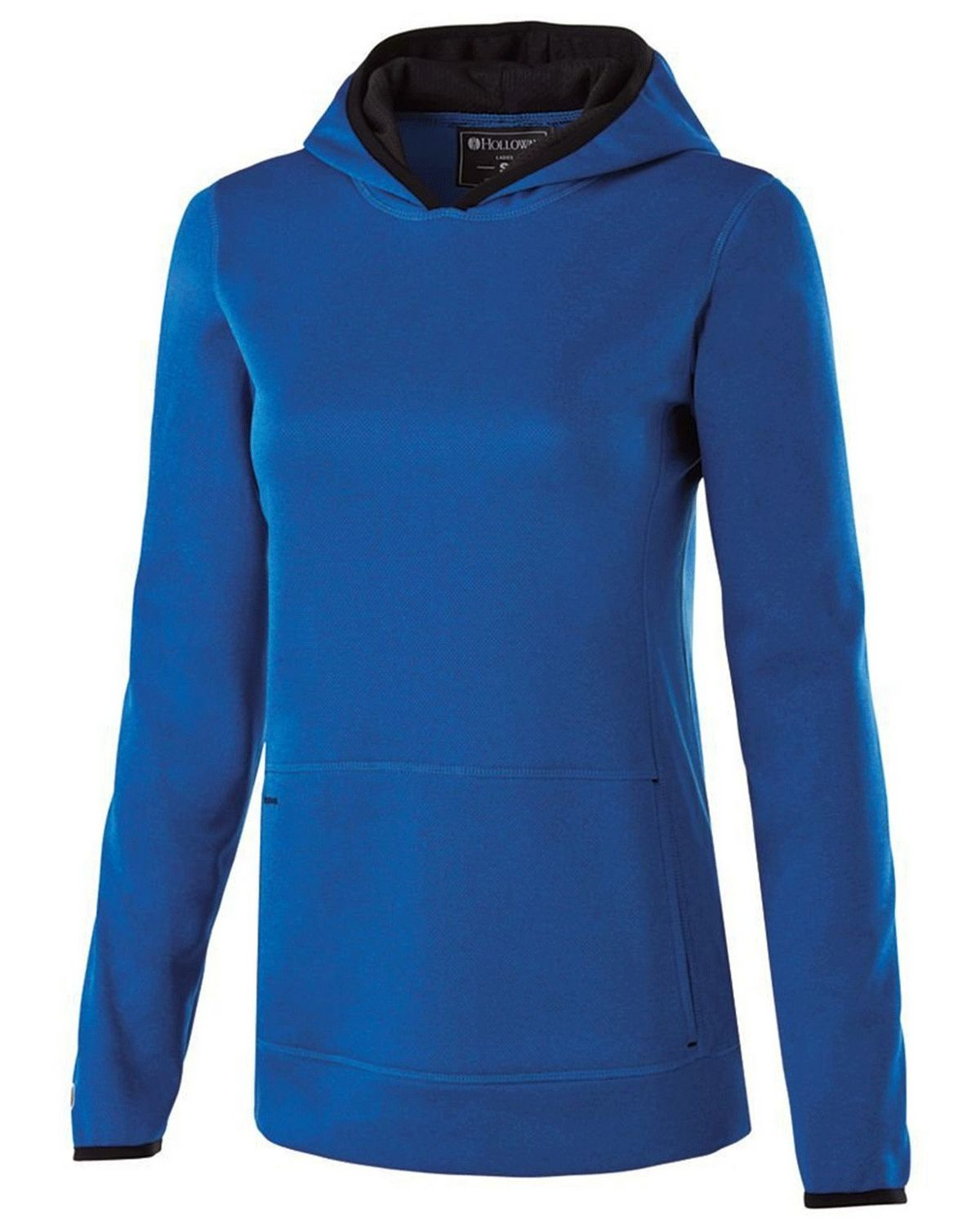 Holloway 229375 Ladies Polyester Fleece Hoodie - Royal Heather - XL 229375