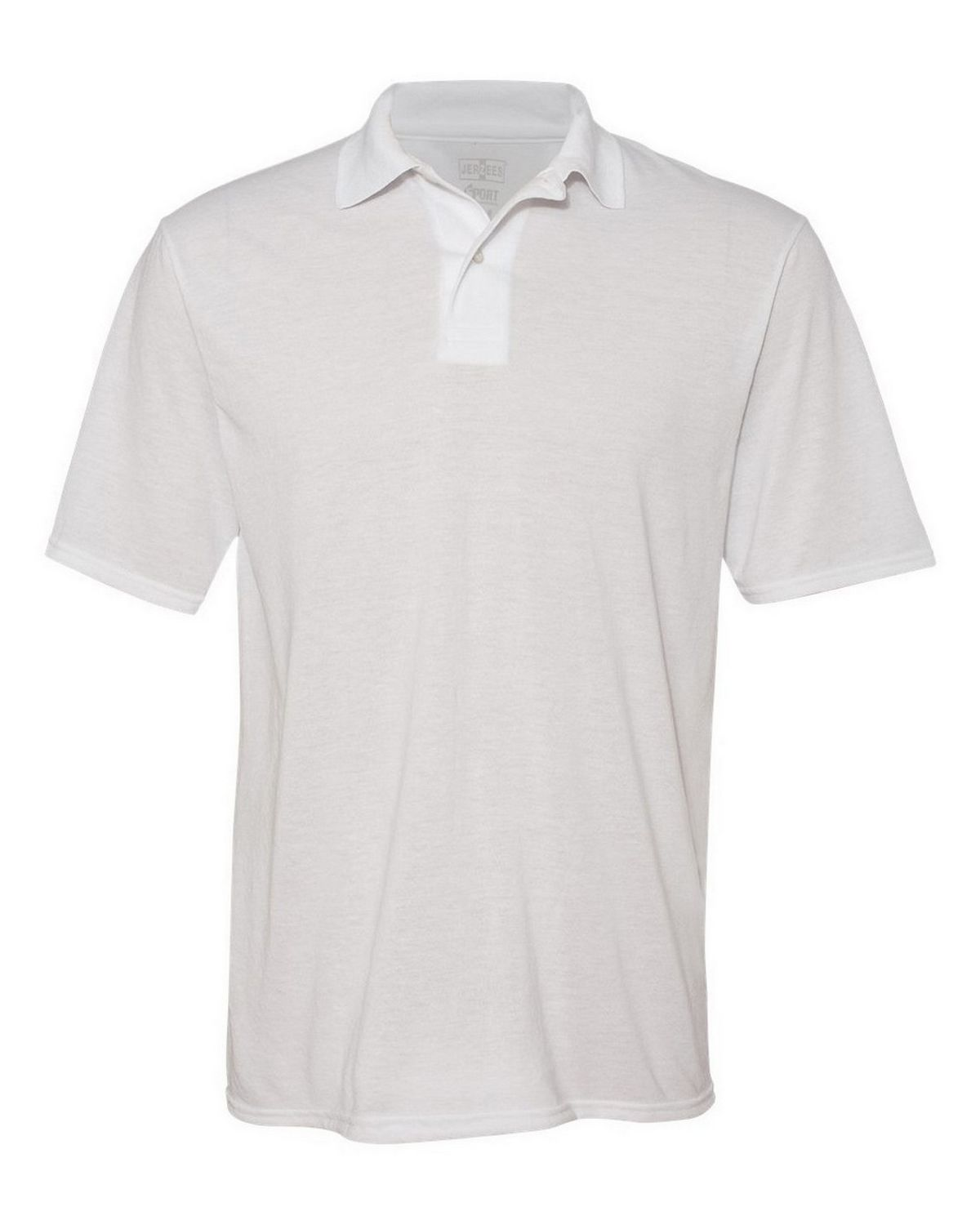 Jerzees 421 Sport Polo - White - L 421