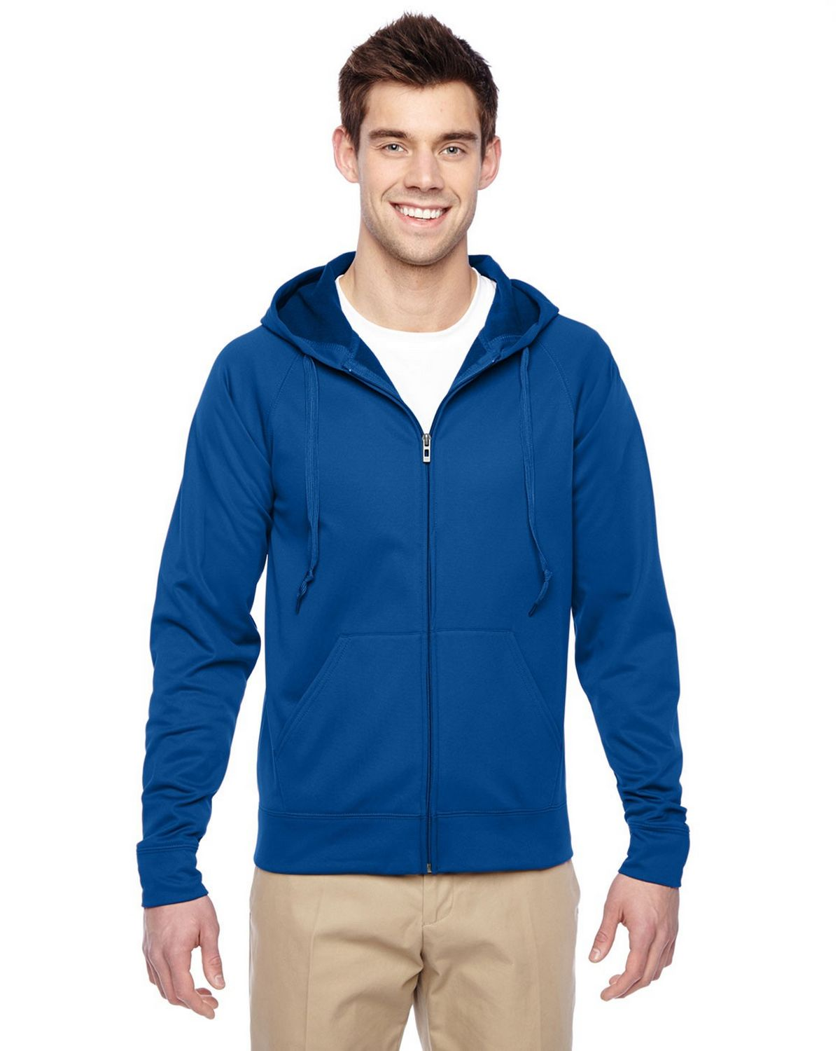 Jerzees PF93MR Fleece Full Zip Hoodie - Royal - L PF93MR