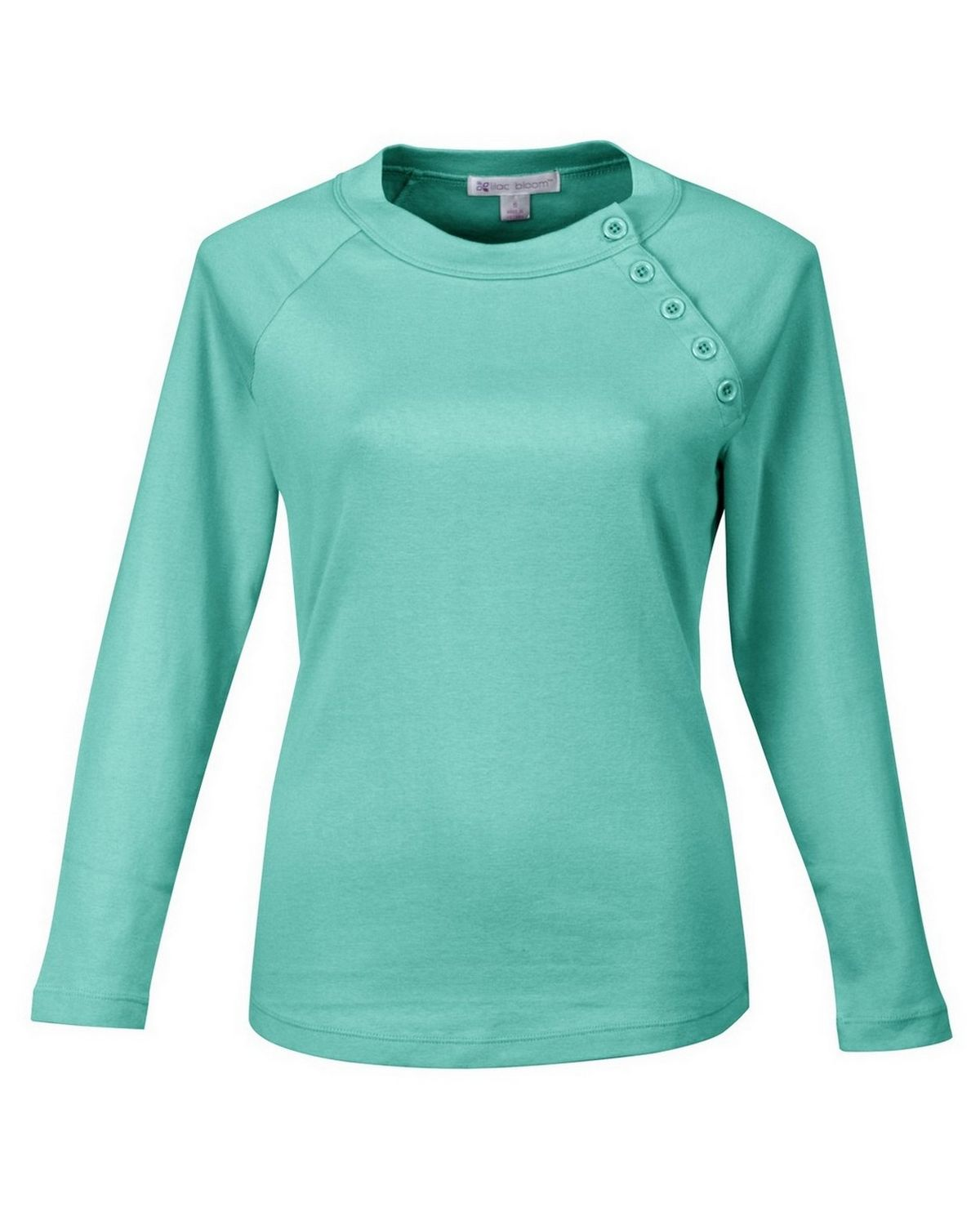 Lilac Bloom LB393 Tiffany - Womens Long Sleeve Knit - Bright Lilac - XS LB393