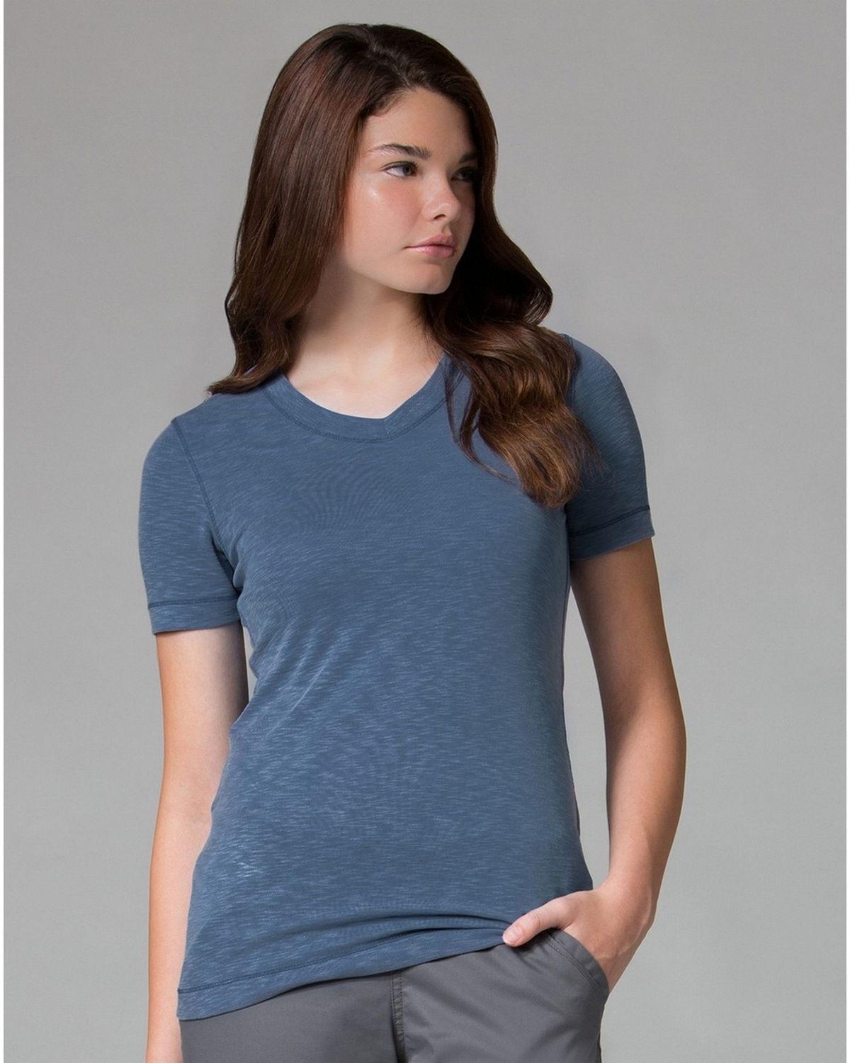 Maevn Modal 6109 Womens Short Sleeve Tee - Navy - XL 6109