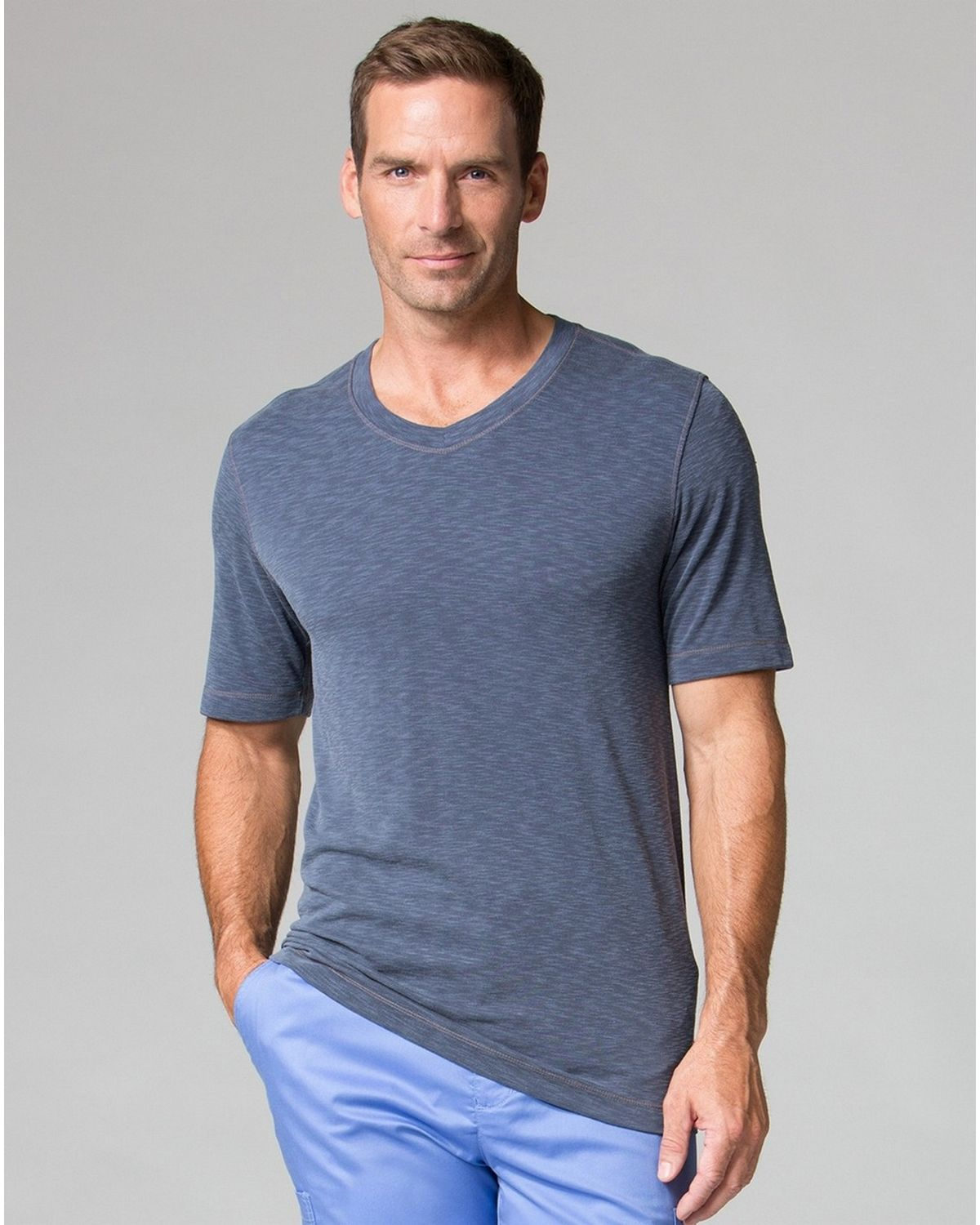 Maevn Modal 6409 Mens Short Sleeve Tee - Navy - XL 6409