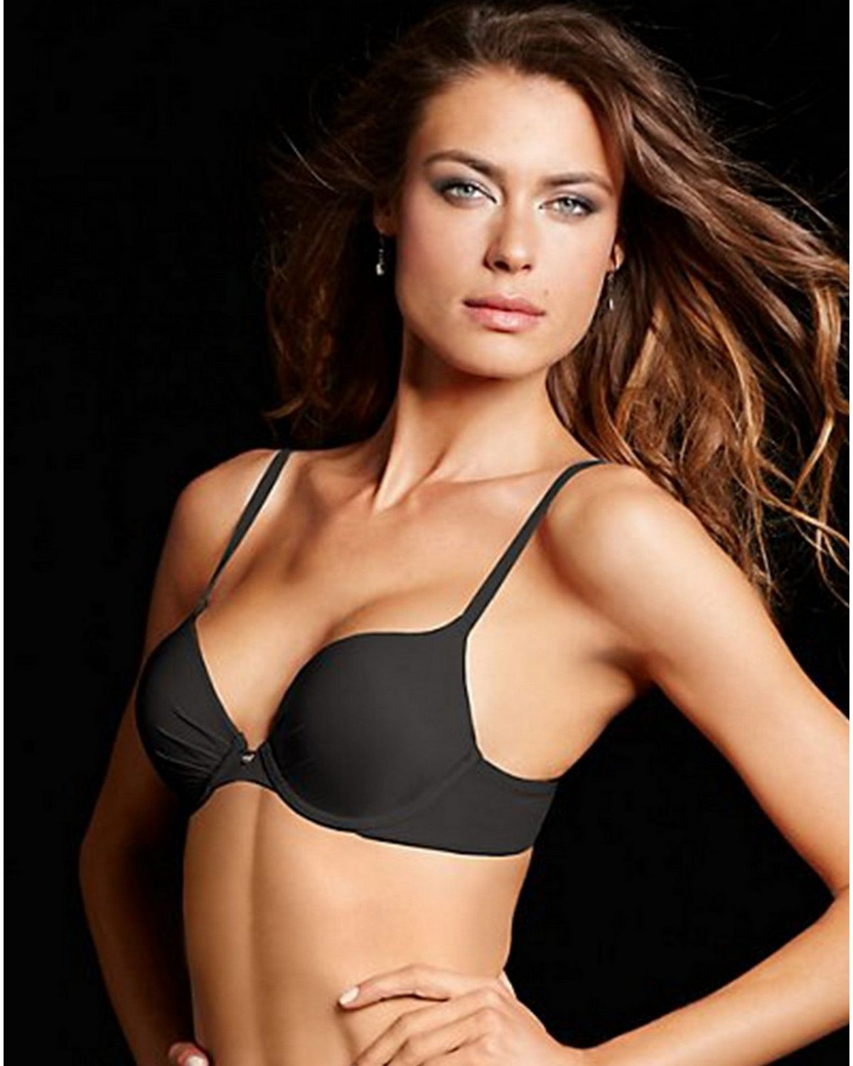 a5aba578f2ccc Buy Maidenform 09442 Comfort Devotion Tailored Plunge Push Up Bra