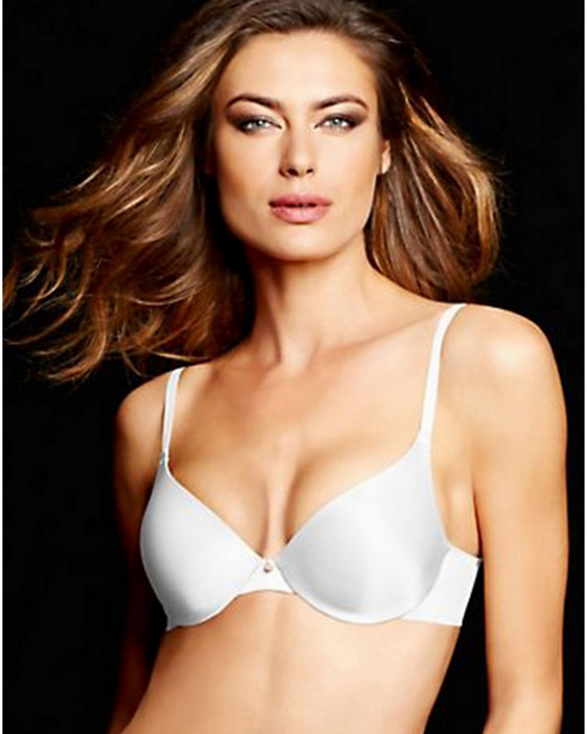 Maidenform 09470 Smooth Comfort Demi Bra - White - 36B 09470
