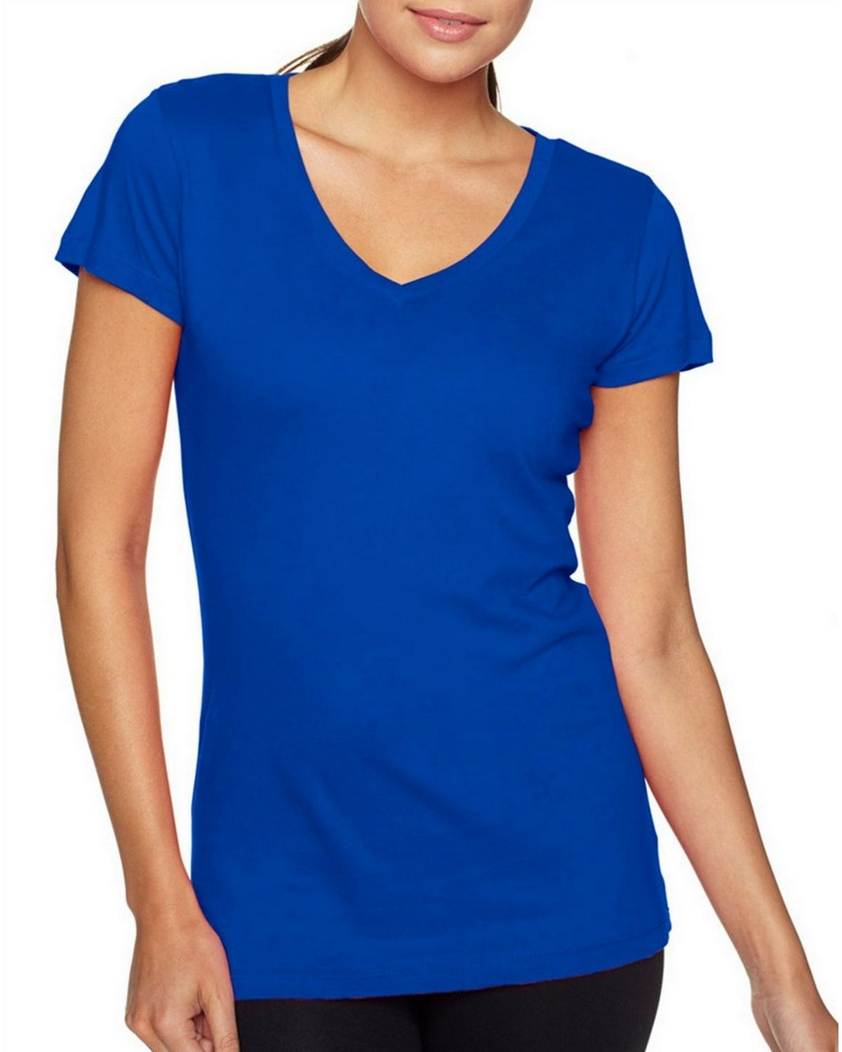 e796f6ad Buy Next Level 3400L Ladies Sporty V-Neck Tee