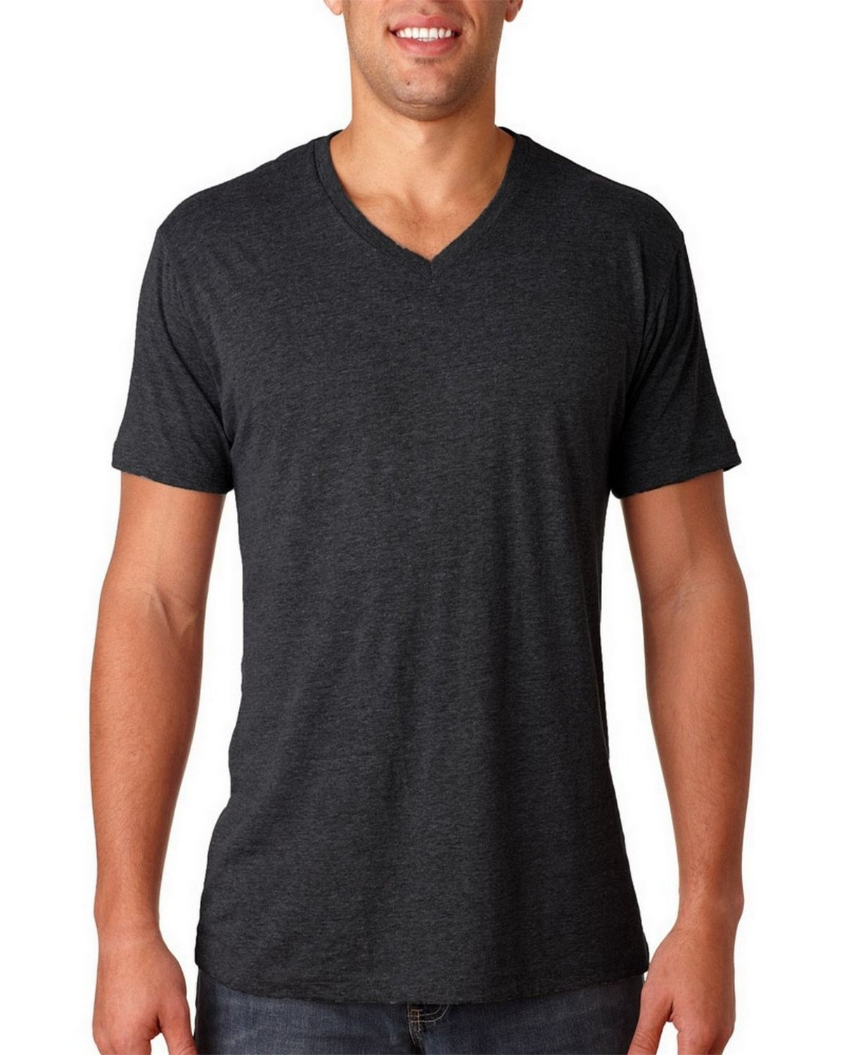 0f6695809ea Buy Next Level 6040 Mens Triblend V-Neck Tee