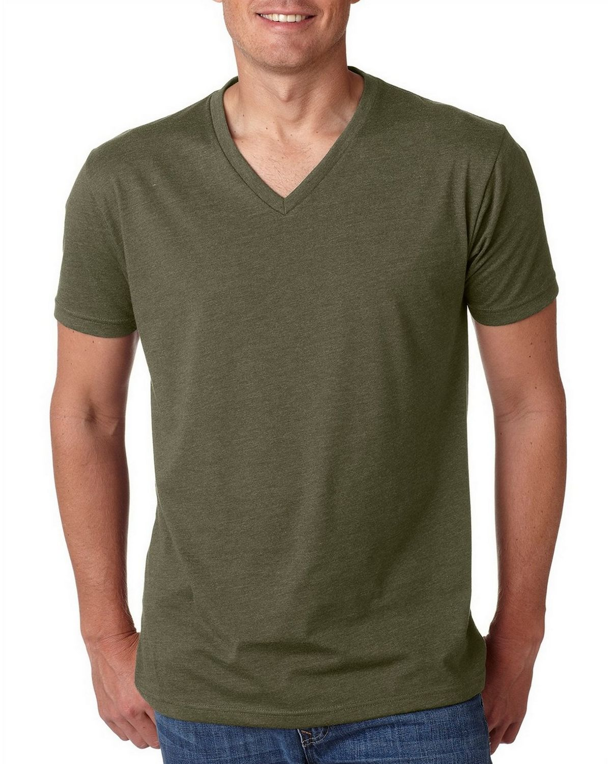 b19b40dc0 Buy Next Level 6240 Mens Premium CVC V-Neck Tee