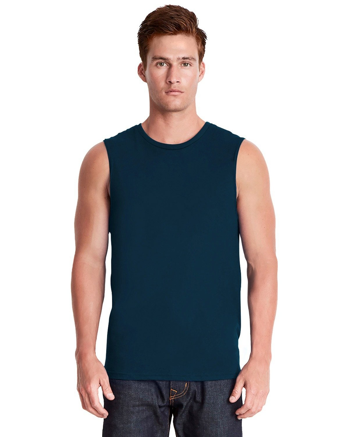 Next Level 6333 Mens Muscle Tank - Midnight Navy - M 6333