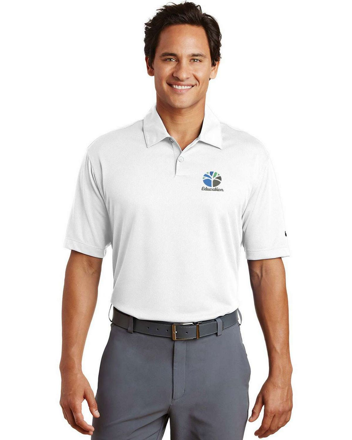 Nike Golf 373749 Dri Fit Pebble Texture