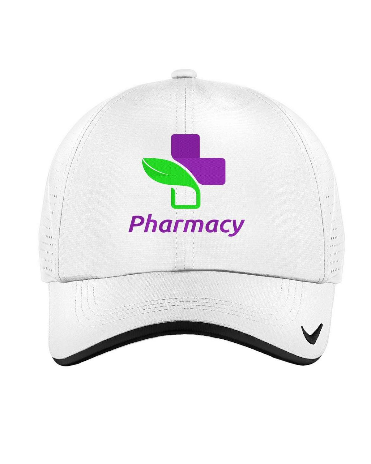 Buy Logo Embroidered Nike Golf 429467 Dri-FIT Swoosh Perforated Cap 197f887e5a9