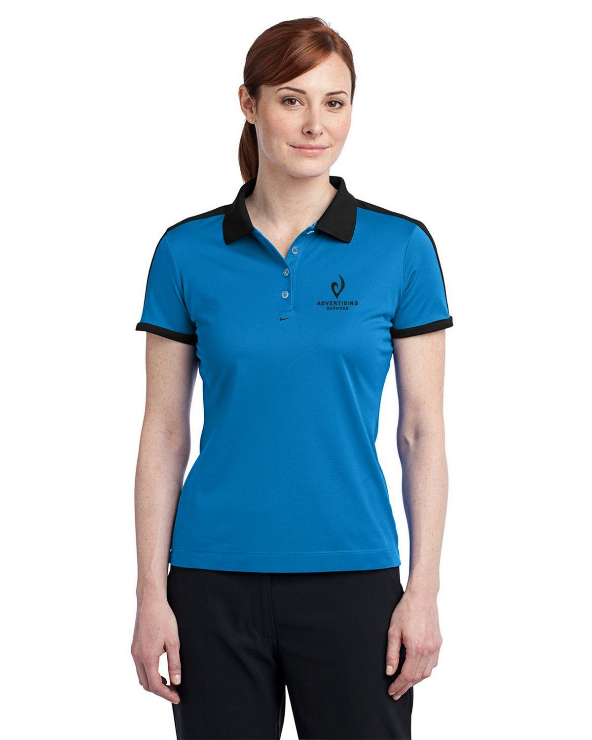 Nike golf dri fit n98 logo embroidered polo at for Nike dri fit embroidered shirts