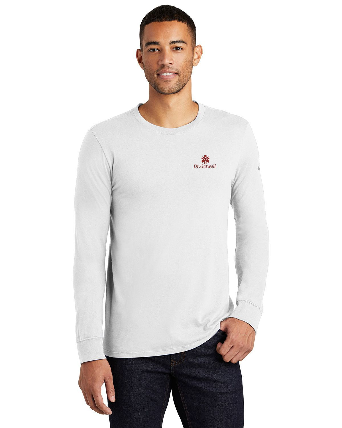 buy popular 4ea92 7064c Nike Golf NKBQ5232 Core Cotton Long Sleeve Tee - Free Shipping Available