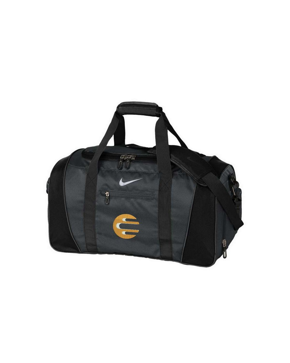 Logo Embroidered Nike Golf Medium Duffel Allegra Green Army Diaper Backpack Anthracite Black