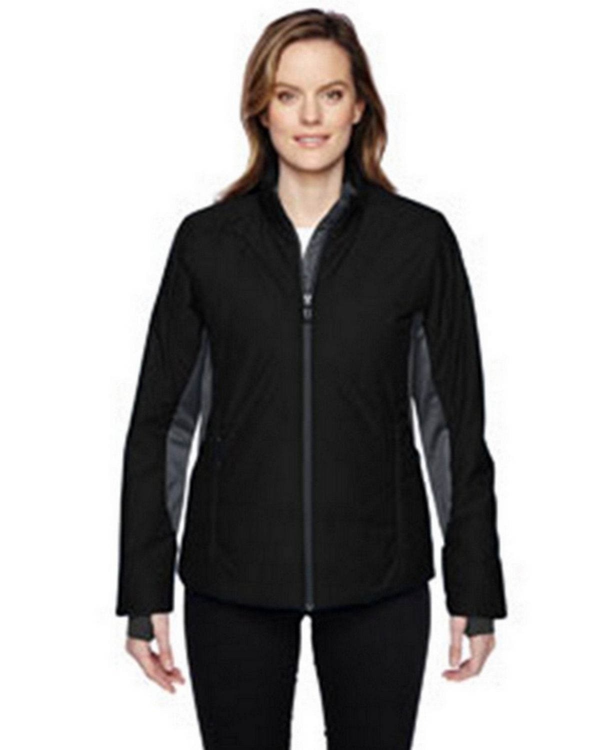 North End 78696 Women's Immerge Insulated Hybrid Jacket