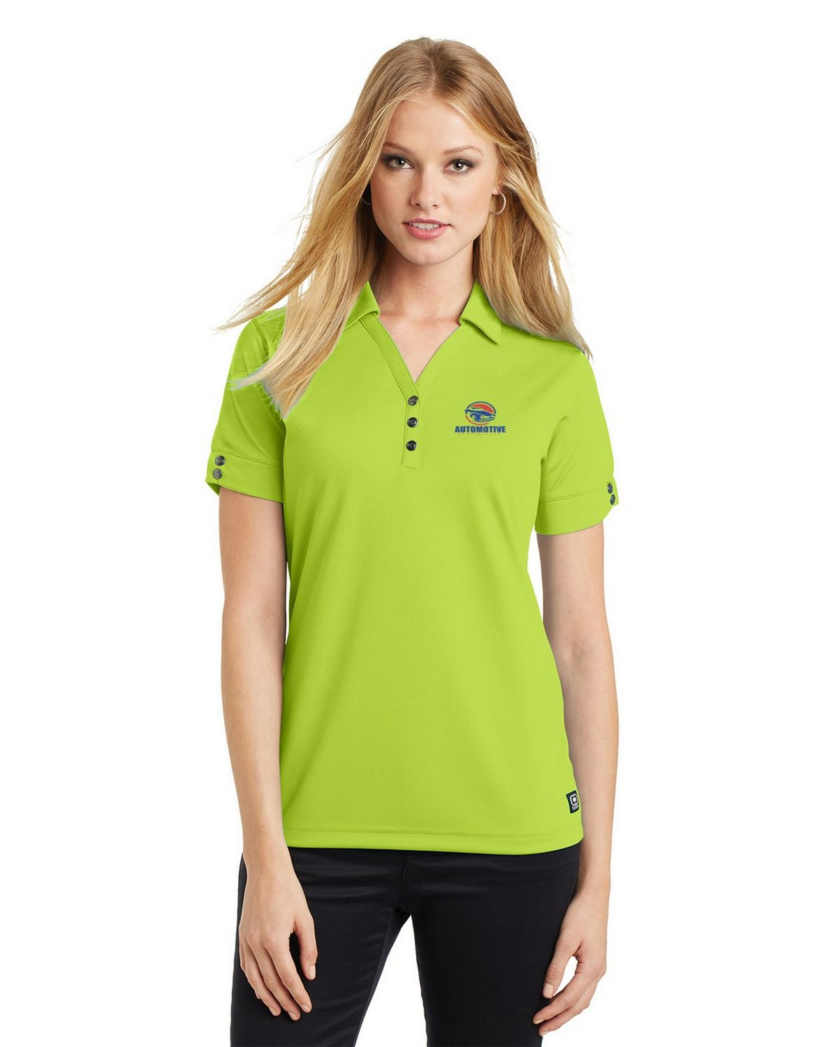 Buy Logo Embroidered Ogio Log105 Glam Polo Shirt For Women